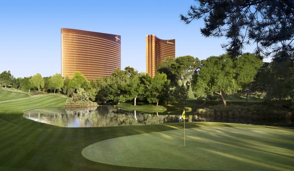 Wynn Las Vegas - Golf - Hole 11 <br/>Image from Leonardo