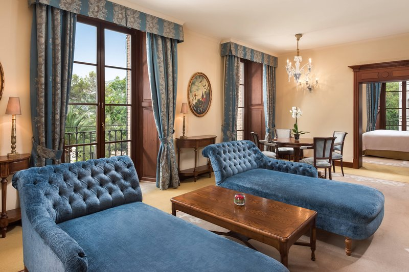 Castillo Hotel Son Vida; a Luxury Collection Hotel-Classic Suite - Living Room<br/>Image from Leonardo