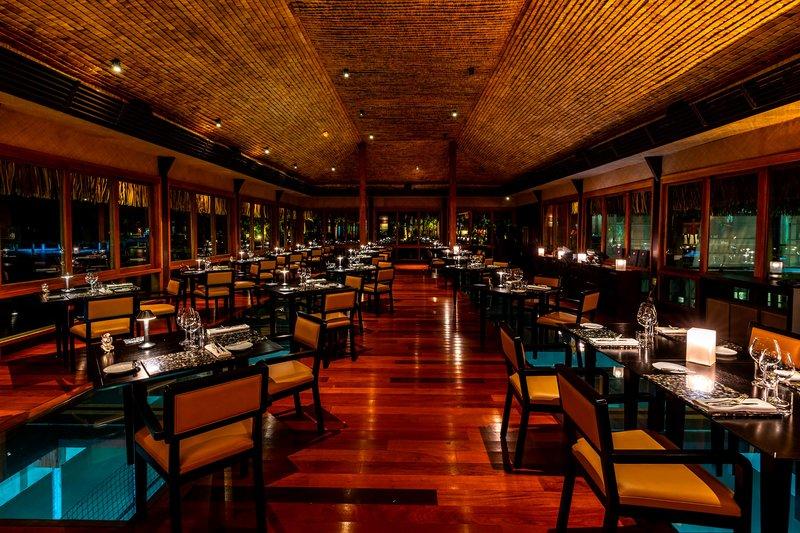 St Regis Resort Bora Bora - Lagoon Restaurant by Jean-Georges <br/>Image from Leonardo