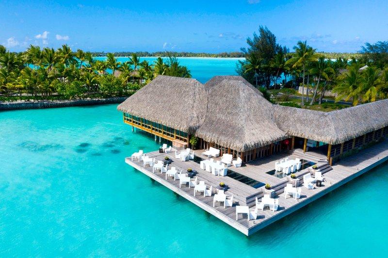 St Regis Resort Bora Bora - Lagoon Restaurant by Jean-Georges - Exterior <br/>Image from Leonardo