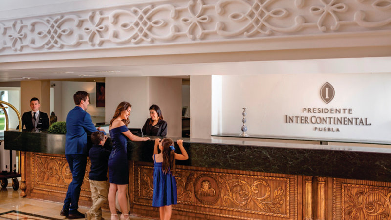 Holiday Inn Express Puebla-Front Desk<br/>Image from Leonardo