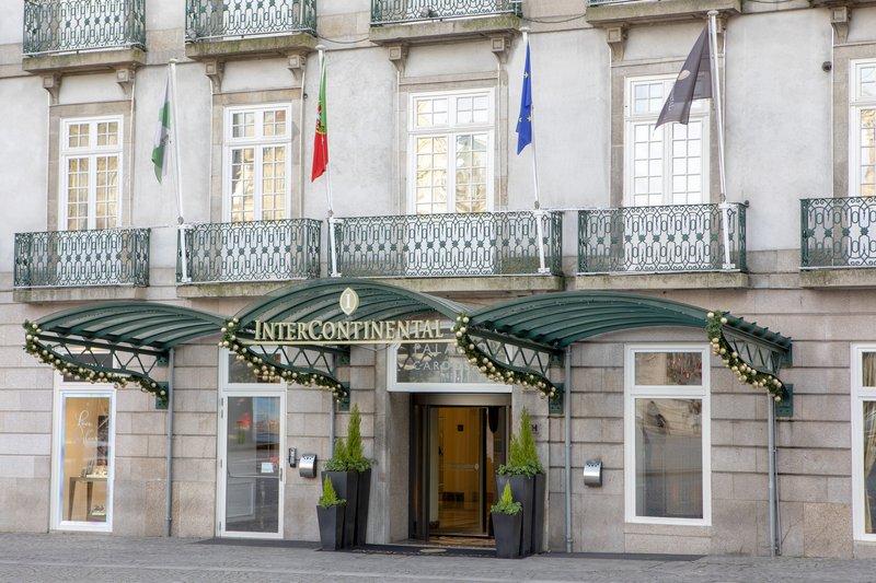Intercontinental Porto - Palacio das Cardosas-Hotel Entrance<br/>Image from Leonardo