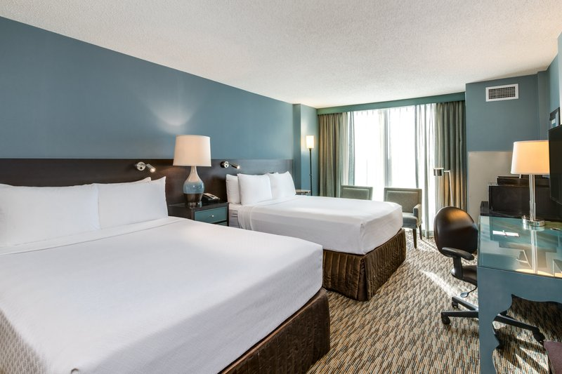 Crowne Plaza Chicago Ohare Hotel & Conference Center-Queen Bed Guest Room<br/>Image from Leonardo