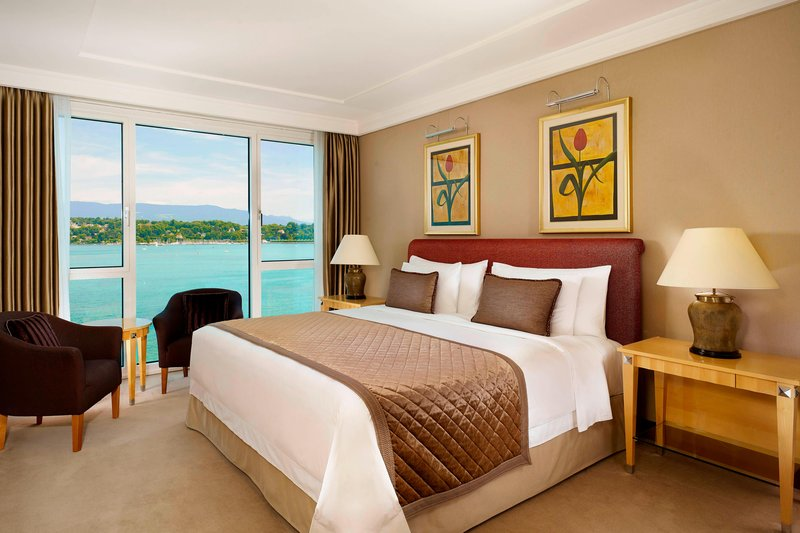 Hotel President Wilson; a Luxury Collection Hotel-Deluxe Guest Room<br/>Image from Leonardo