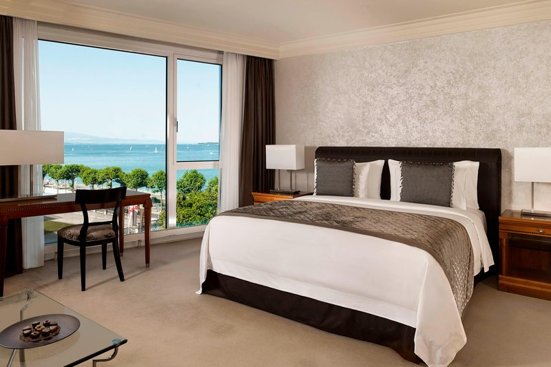 Hotel President Wilson; a Luxury Collection Hotel-Grand Deluxe Guest Room<br/>Image from Leonardo