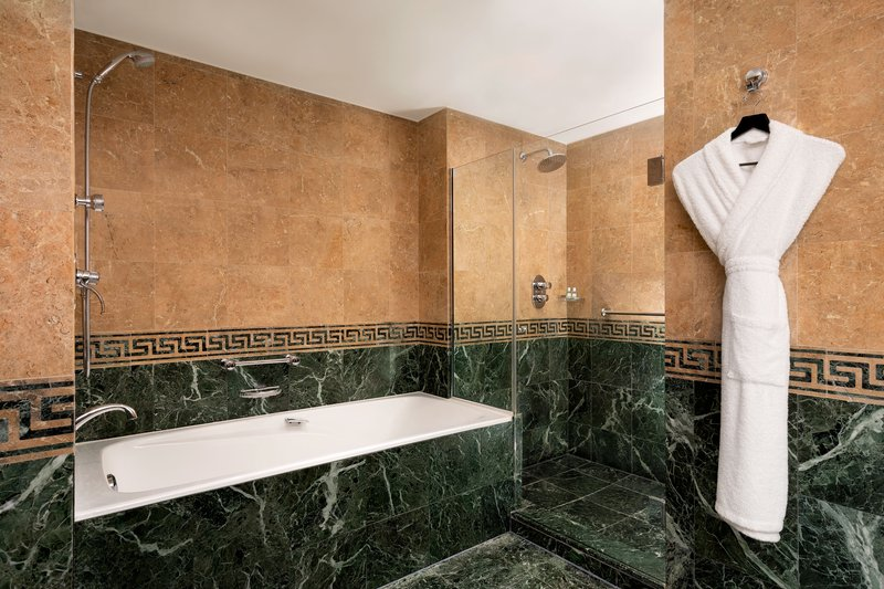 Hotel President Wilson; a Luxury Collection Hotel-Guest Bathroom – Separate Shower & Tub<br/>Image from Leonardo