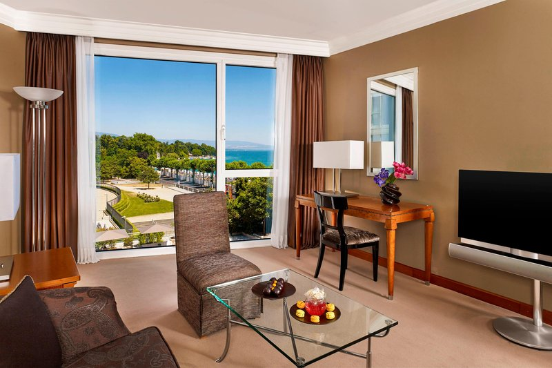 Hotel President Wilson; a Luxury Collection Hotel-Junior Suite with separate living<br/>Image from Leonardo