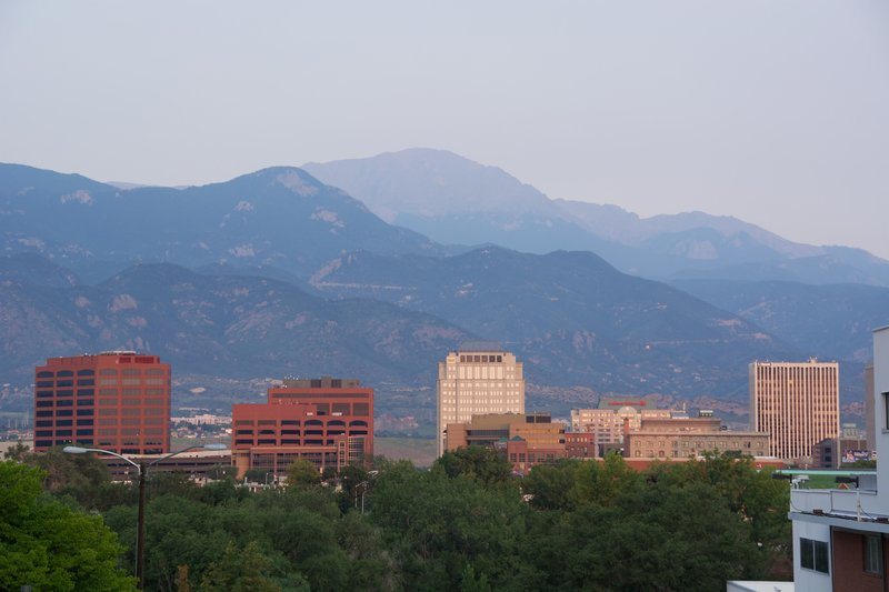 Holiday Inn Express & Suites Colorado Springs Central-Area Attractions<br/>Image from Leonardo