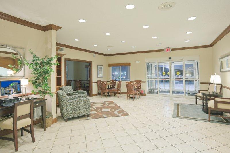 Holiday Inn Express Evansville - West-Hotel Lobby<br/>Image from Leonardo