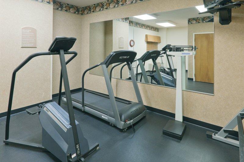 Holiday Inn Express Evansville - West-Fitness Center<br/>Image from Leonardo