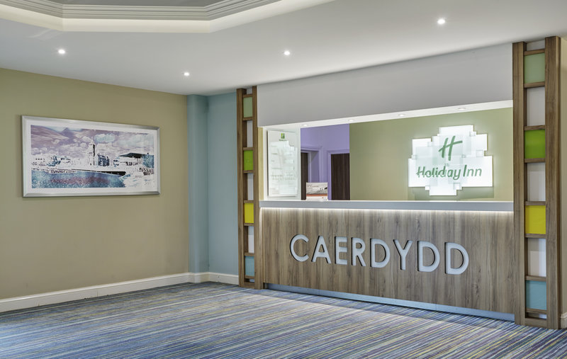 Holiday Inn Cardiff - North M4, Jct.32-Our light and airy Reception area<br/>Image from Leonardo
