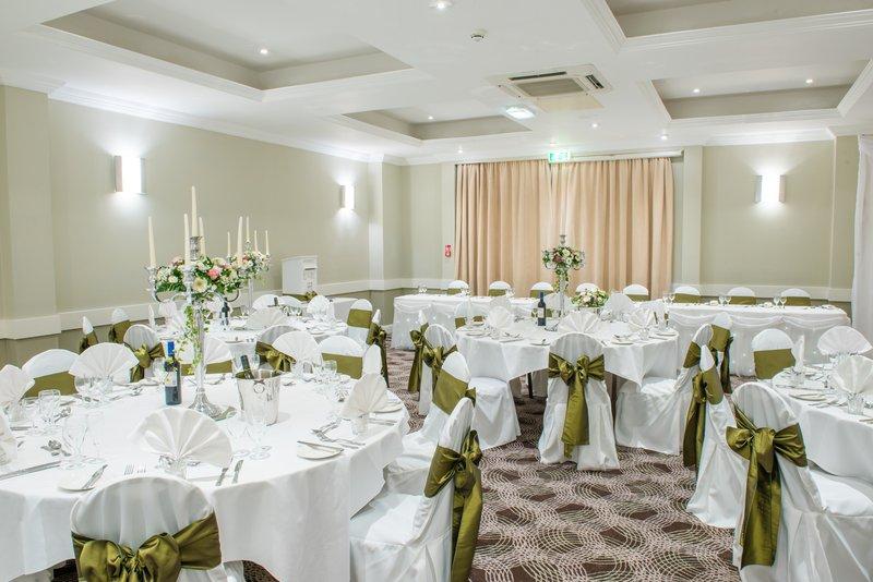Holiday Inn Cardiff - North M4, Jct.32-Wedding Breakfast<br/>Image from Leonardo
