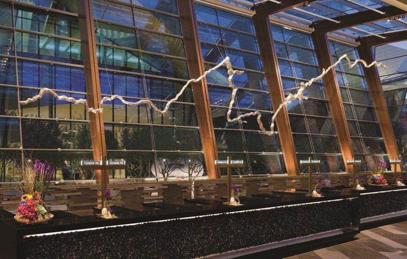 Aria Resort and Casino - Front Desk <br/>Image from Leonardo