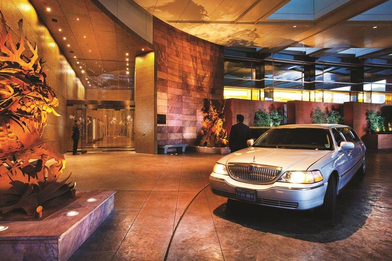 Aria Resort and Casino-Porte Cochere<br/>Image from Leonardo