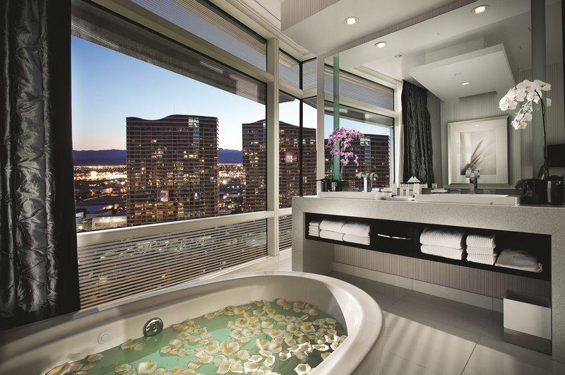 Aria Resort and Casino - One Bedroom Penthouse Bathroom <br/>Image from Leonardo