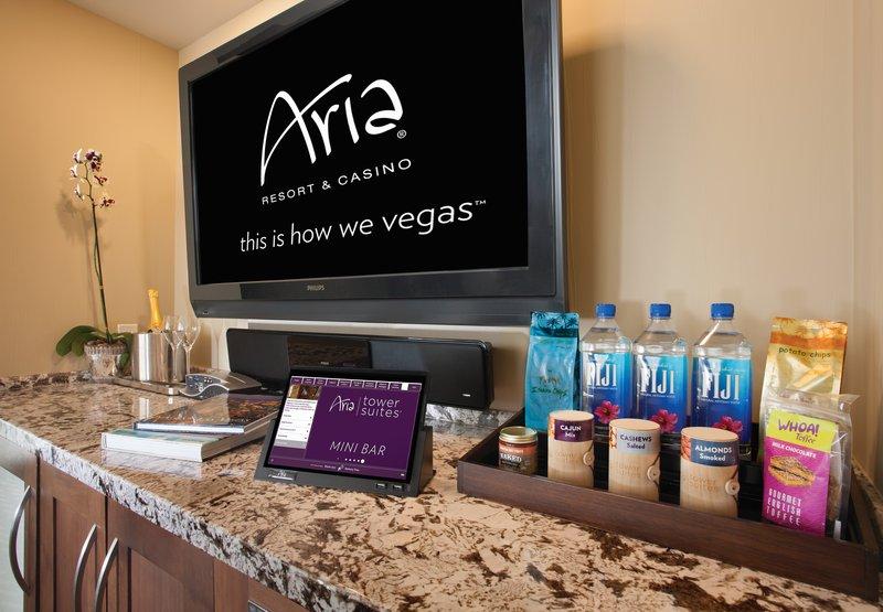 Aria Resort and Casino - Minibar <br/>Image from Leonardo
