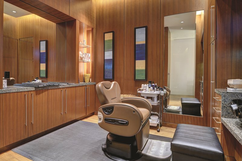 Aria Resort and Casino - Spa Barber Room <br/>Image from Leonardo