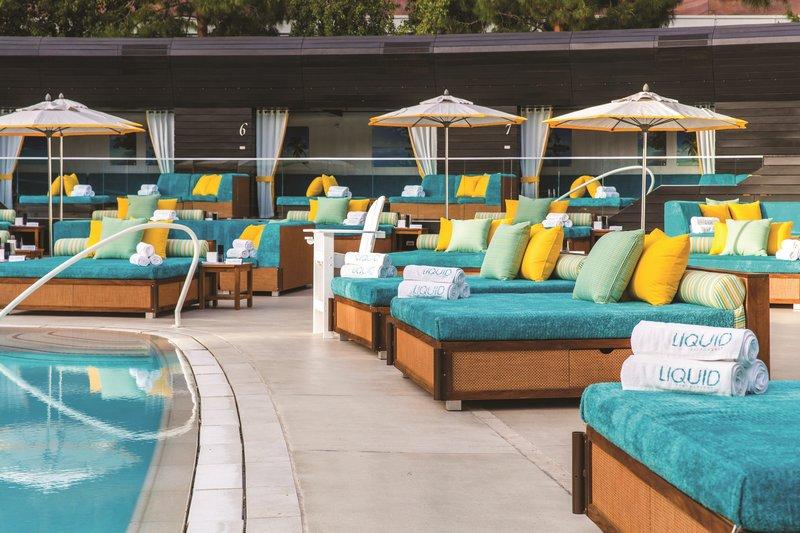 Aria Resort and Casino - Liquid Pool Daybeds <br/>Image from Leonardo