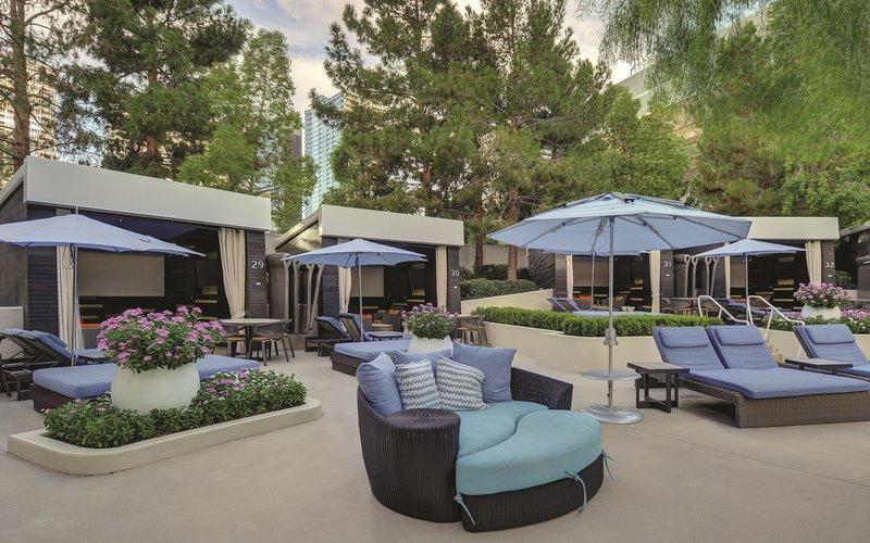 Aria Resort and Casino - Pool Seating <br/>Image from Leonardo