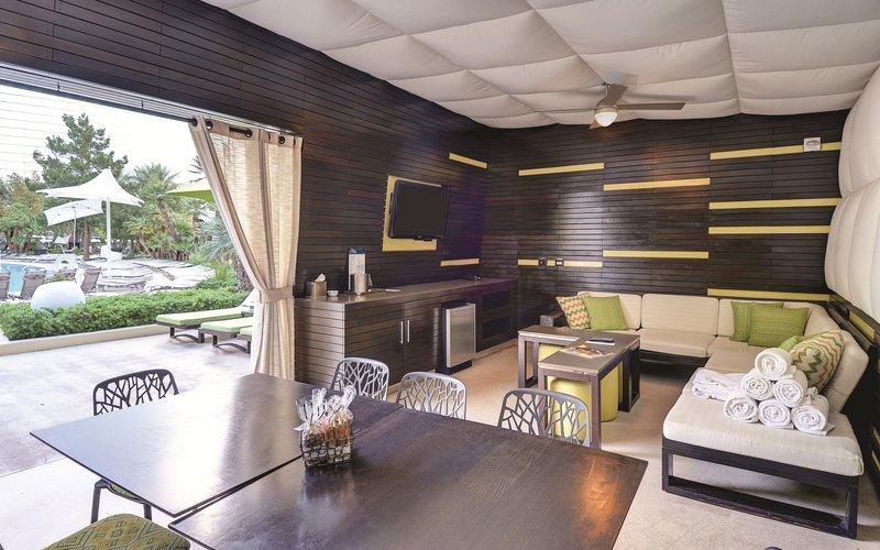 Aria Resort and Casino - Pool Cabana Interior <br/>Image from Leonardo