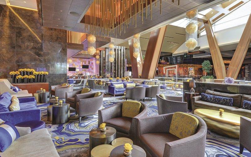 Aria Resort and Casino - Lobby Bar Seating <br/>Image from Leonardo