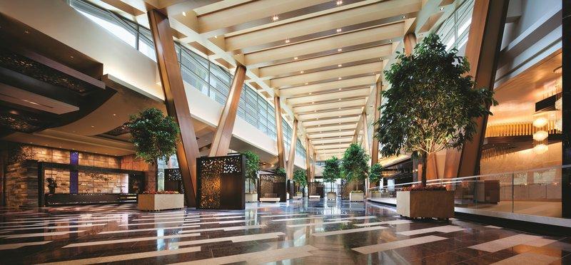 Aria Resort and Casino - Lobby <br/>Image from Leonardo