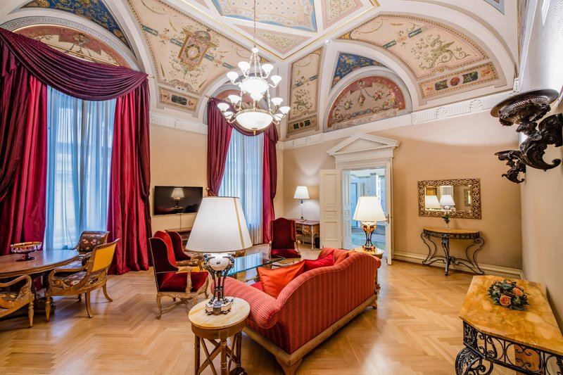 Carlo IV, Dedica Anthology Autograph Collection - Presidential Suite - Living Room <br/>Image from Leonardo