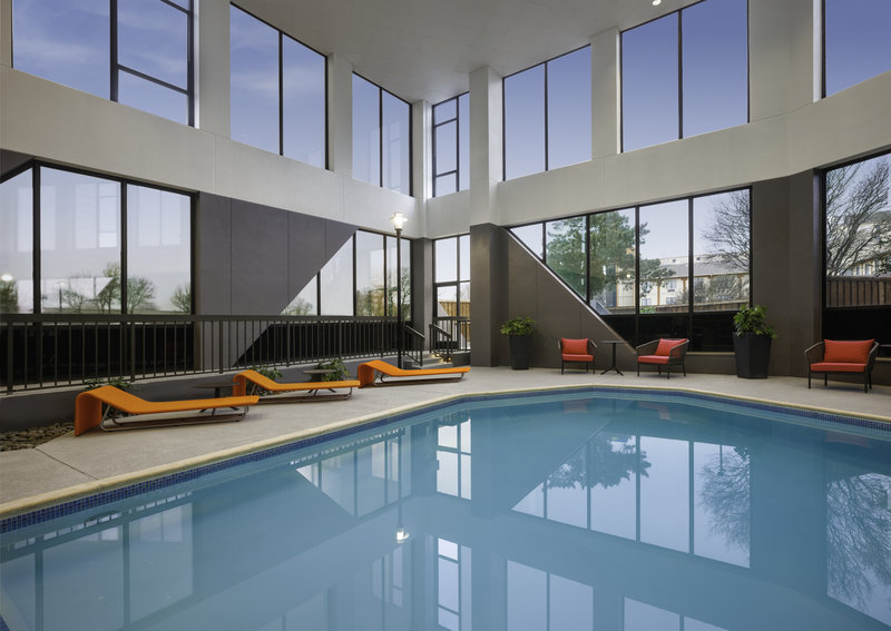 Crowne Plaza Dallas Market Center-Cool off and splash around in our large indoor swimming pool.<br/>Image from Leonardo