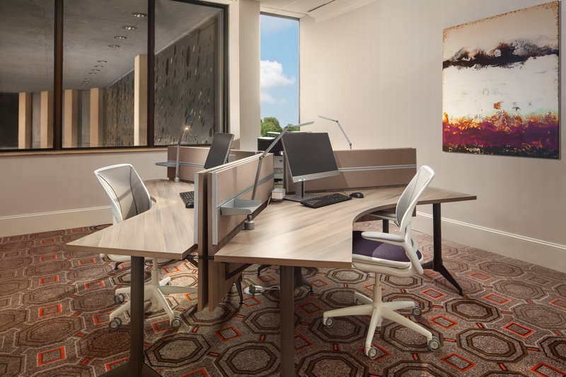 Crowne Plaza Dallas Market Center-Check your email and print in our business center.<br/>Image from Leonardo