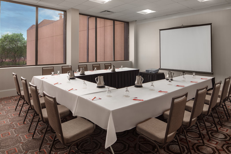 Crowne Plaza Dallas Market Center-Host a business meeting during your stay at our Dallas hotel. <br/>Image from Leonardo