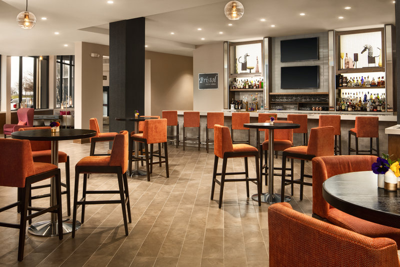 Crowne Plaza Dallas Market Center-Enjoy specialty drinks and light bites in our bar seating area.<br/>Image from Leonardo