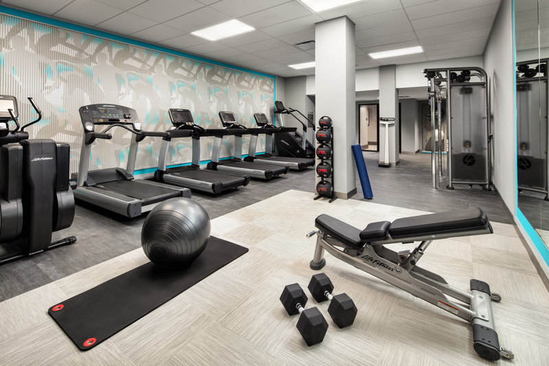 Crowne Plaza Dallas Market Center-Stimulate your mind and body at our new fitness center.<br/>Image from Leonardo