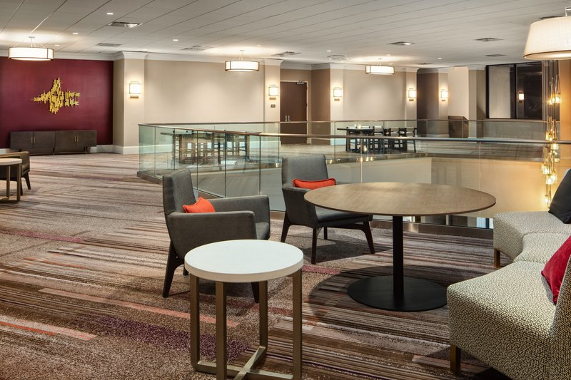 Crowne Plaza Dallas Market Center-Guests can do registration or coffee breaks in our elegant foyer.<br/>Image from Leonardo