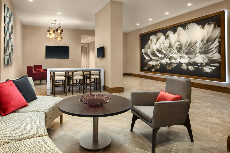 Crowne Plaza Dallas Market Center-Be comfortable and productive in our state-of-the-art lobby space<br/>Image from Leonardo