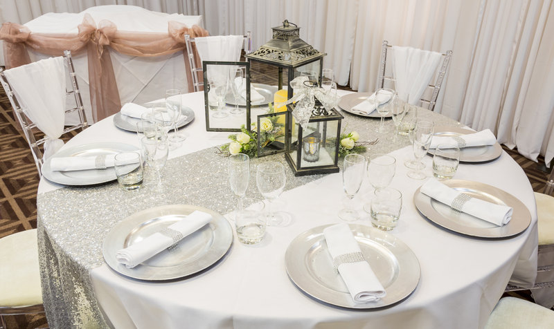 Holiday Inn Newcastle-Jesmond-Set for a wedding<br/>Image from Leonardo