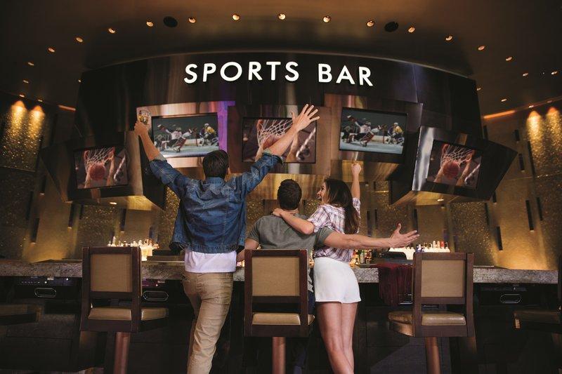 Aria Resort and Casino - Sports Bar <br/>Image from Leonardo
