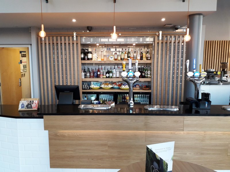 Holiday Inn Express Leeds City Centre - Armouries-Hotel Bar<br/>Image from Leonardo