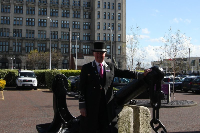 Crowne Plaza Liverpool City Centre-our wonderful welcoming doorman<br/>Image from Leonardo