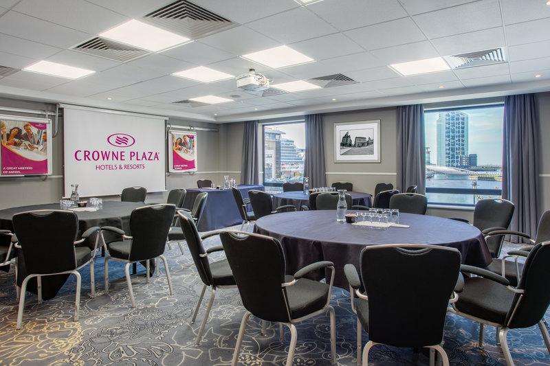 Crowne Plaza Liverpool City Centre-Meeting Room<br/>Image from Leonardo