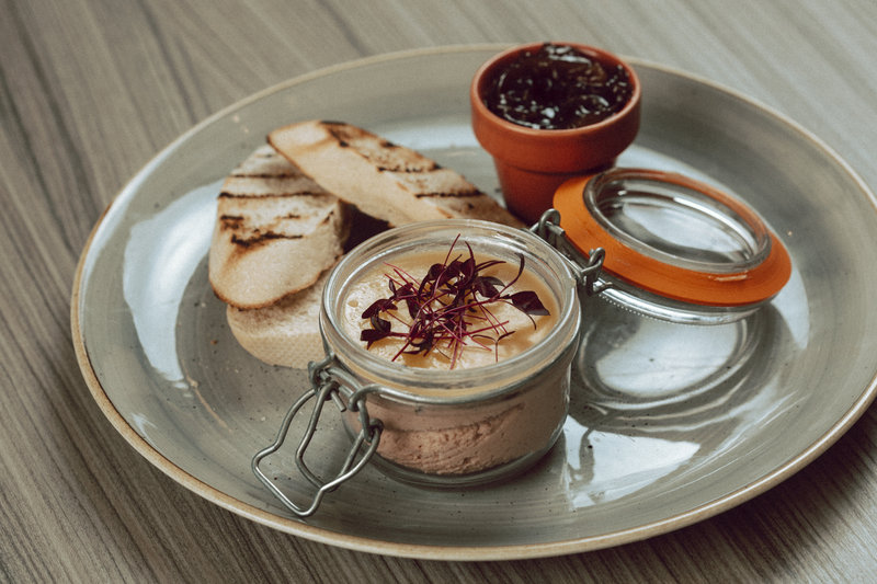 Holiday Inn Newcastle-Jesmond-Chicken liver pate<br/>Image from Leonardo
