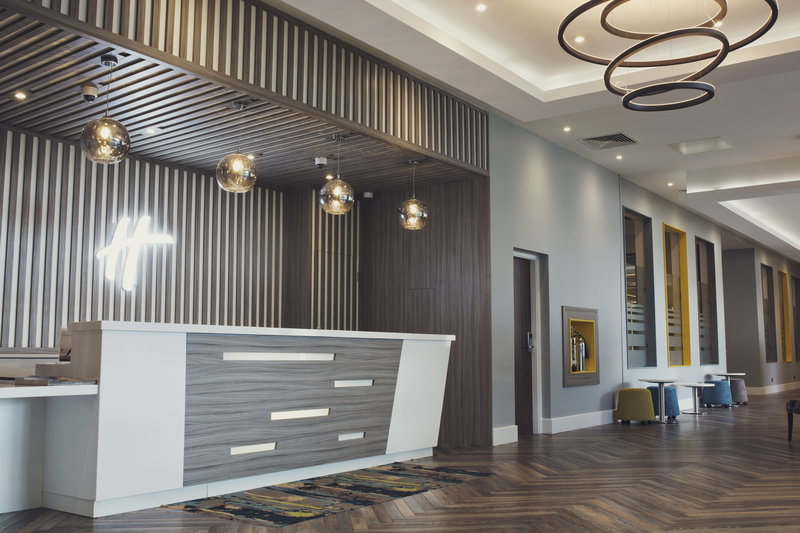Holiday Inn Newcastle - Gosforth Park-Our lovely reception<br/>Image from Leonardo