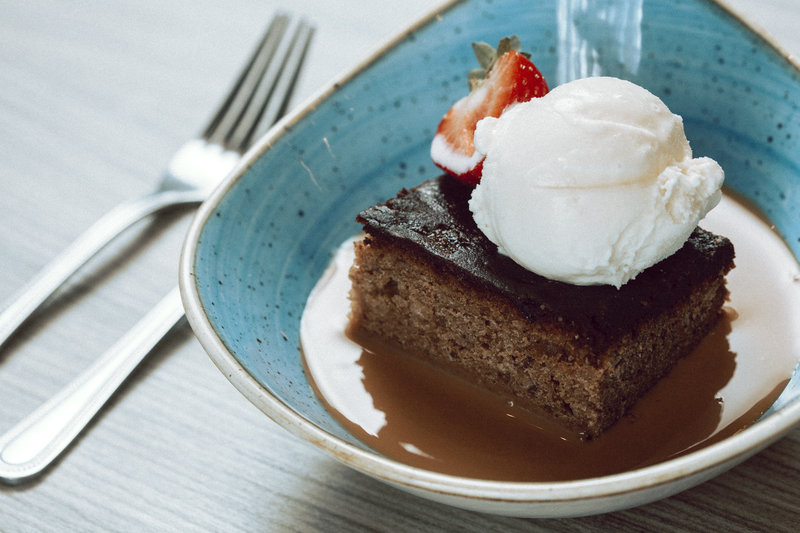 Holiday Inn Newcastle-Jesmond-Sticky toffee pudding<br/>Image from Leonardo