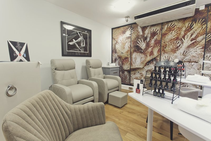 Holiday Inn Newcastle-Jesmond-Nail bar <br/>Image from Leonardo