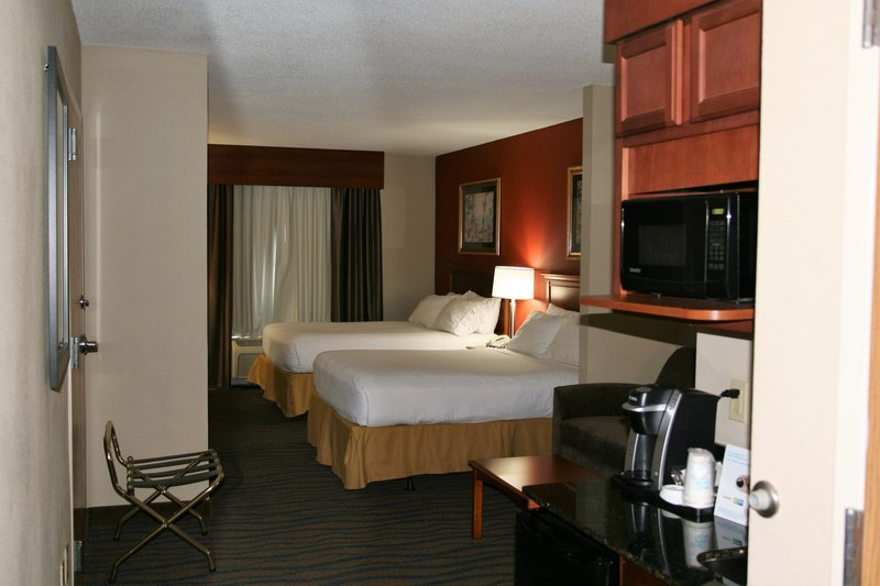 Holiday Inn Express & Suites Brooksville West-Free in room coffee, microwave and refrigerator.  <br/>Image from Leonardo