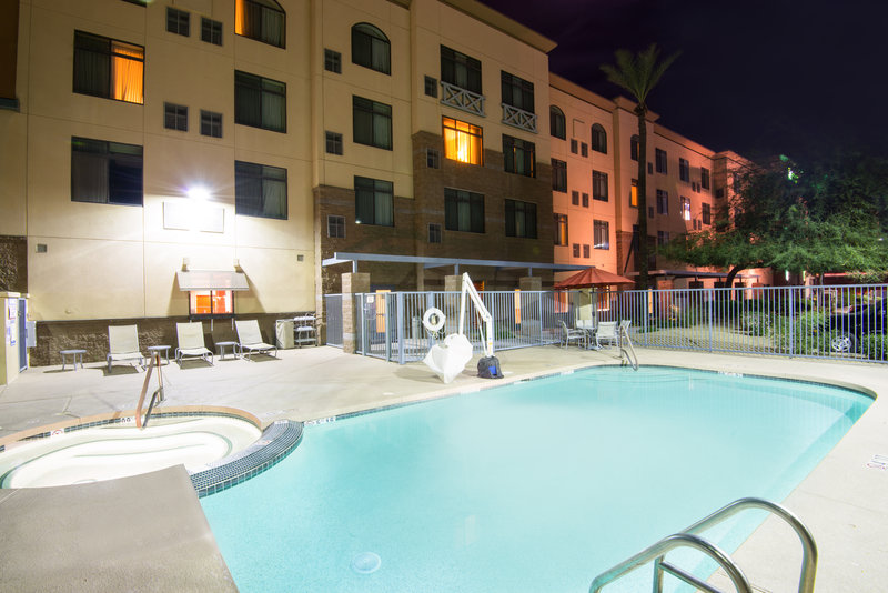 Holiday Inn Express Phoenix-I-10 West/Goodyear-Relax and take a dip in our outdoor Swimming Pool<br/>Image from Leonardo