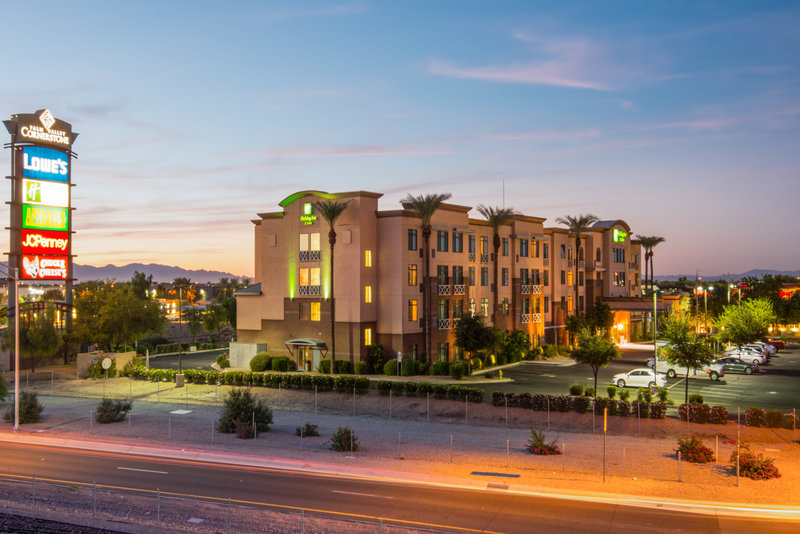 Holiday Inn Express Phoenix-I-10 West/Goodyear-A view of our hotel at dusk<br/>Image from Leonardo