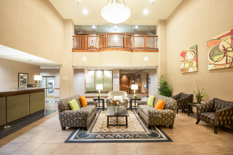 Holiday Inn Express Phoenix-I-10 West/Goodyear-Relax in our inviting Hotel Lobby<br/>Image from Leonardo
