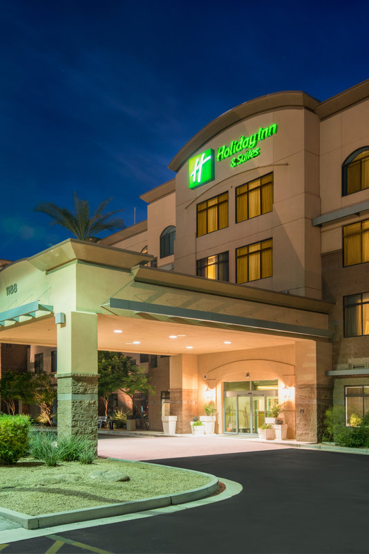 Holiday Inn Express Phoenix-I-10 West/Goodyear-Our Hotel Entrance<br/>Image from Leonardo