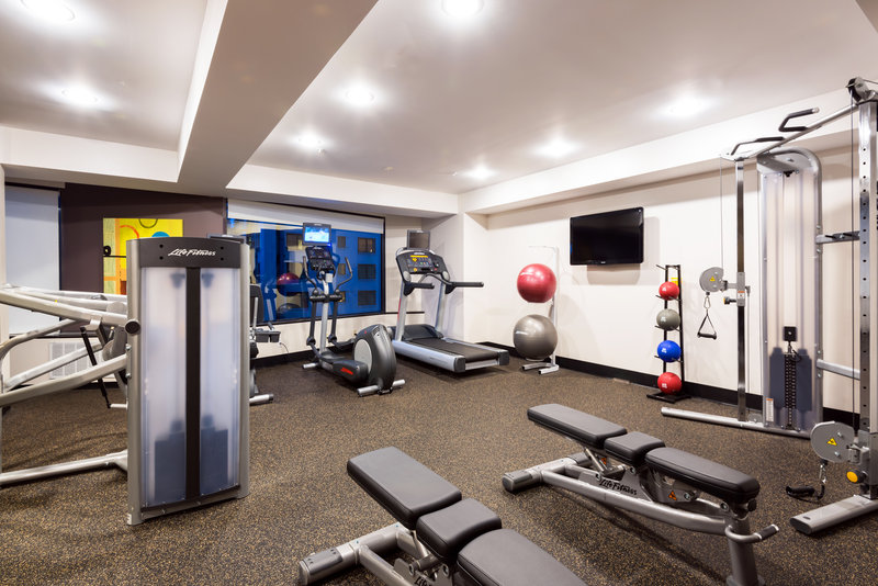Crowne Plaza Seattle-Downtown-CP Seattle 24 hour Fitness Center featuring Life Fitness Equipment<br/>Image from Leonardo
