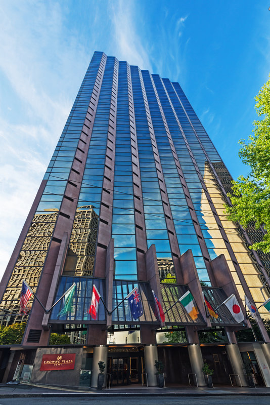 Crowne Plaza Seattle-Downtown-Crowne Plaza Seattle-Hotel Exterior<br/>Image from Leonardo